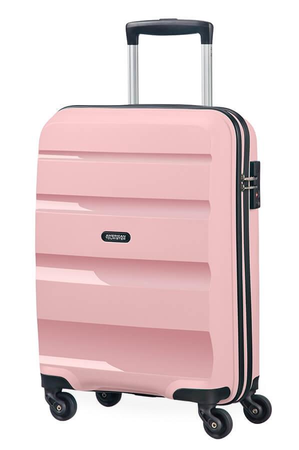 American Tourister Kabinový cestovní kufr Bon Air Spinner 85A 31,5 l - světle růžová