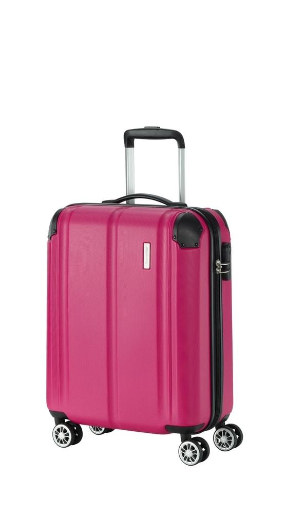 Travelite Kabinový cestovní kufr City 4w S Berry 40 l