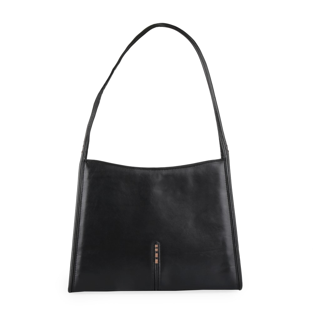 Hajn Dámská kožená kabelka přes rameno 1135014 černá
