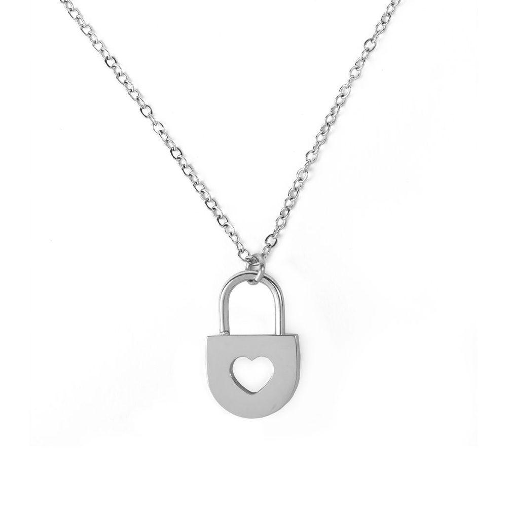 Vuch Dámský náhrdelník Secret Silver