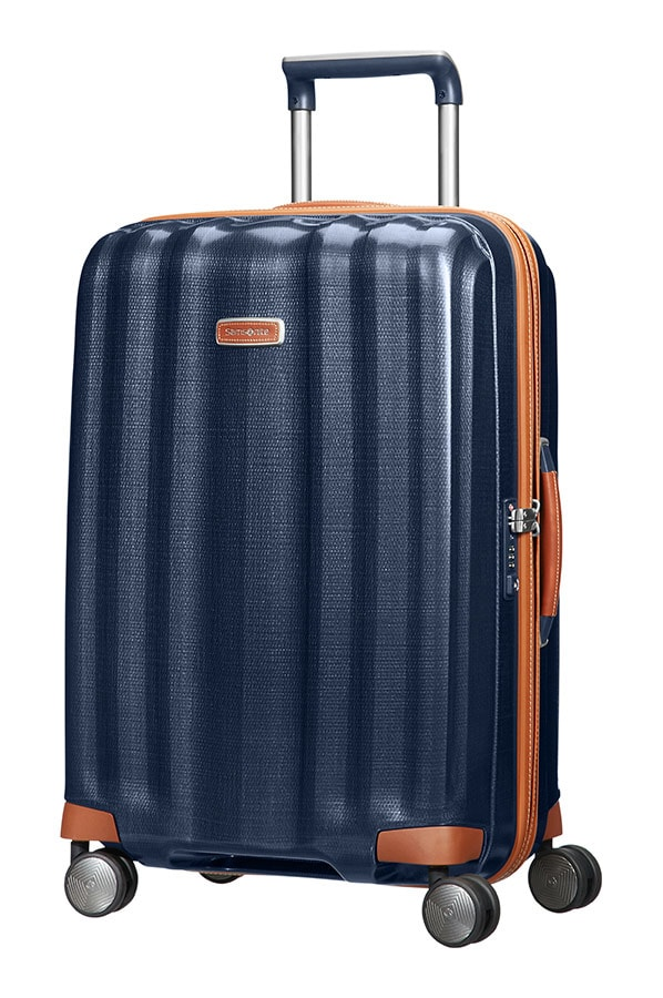 Samsonite Cestovní kufr Lite-Cube DLX Spinner 82V 67,5 l - modrá