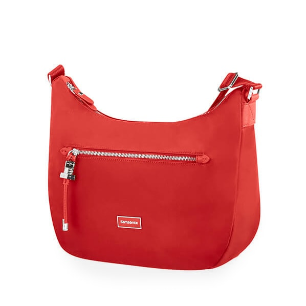 Samsonite Dámská kabelka přes rameno Karissa Hobo Bag 34N - červená