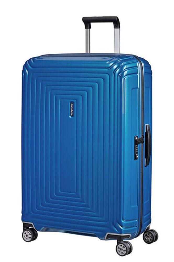 Samsonite Cestovní kufr Neopulse Spinner 44D 94 l - METALLIC INTENSE BLUE