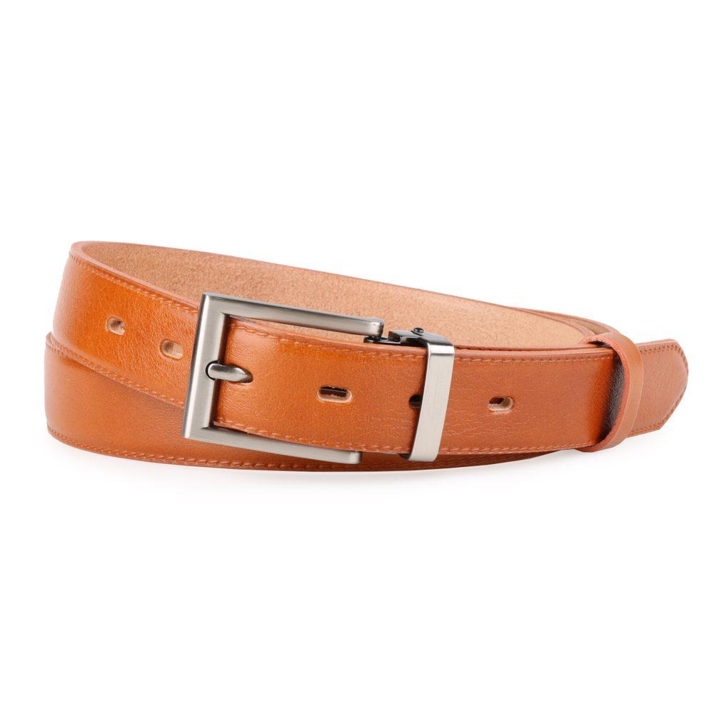 Penny Belts Pánský kožený opasek 30/020/1-42 světle hnědý - 105
