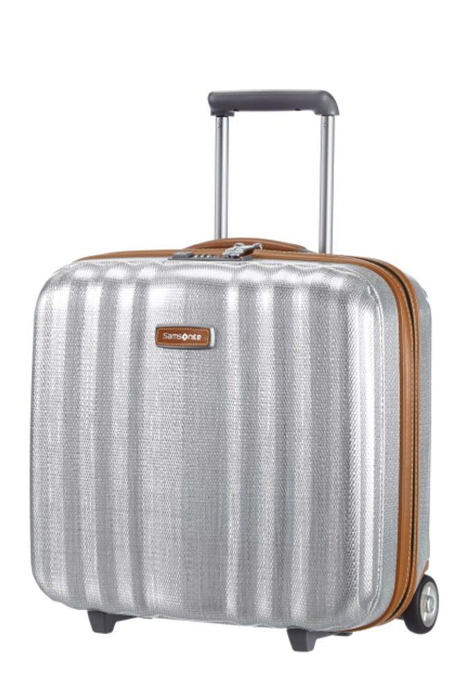 Samsonite Kabinový cestovní kufr Lite-Cube DLX Rolling Tote 82V 31,5 l - stříbrná