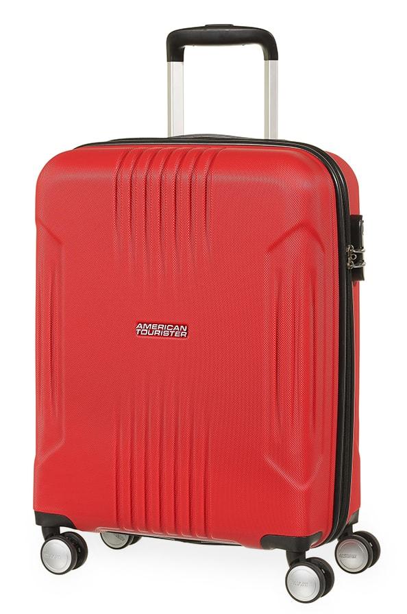 American Tourister Kabinový cestovní kufr Tracklite Spinner 34G 34 l - červená