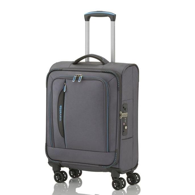 Travelite Kabinový cestovní kufr CrossLITE S 39 l - šedá