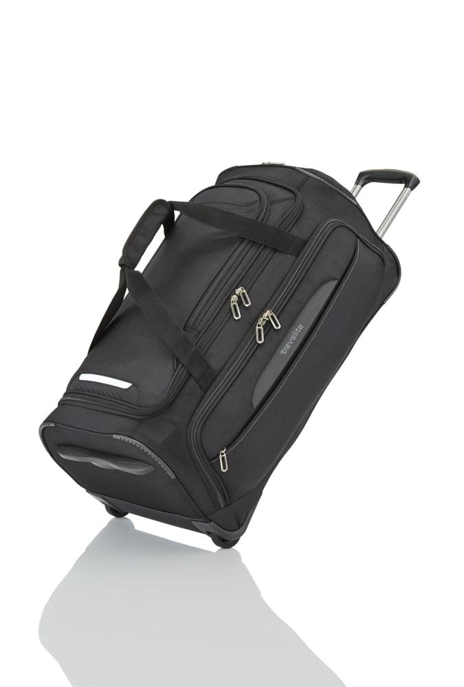Travelite Cestovní taška na kolečkách CrossLITE Black 82 l