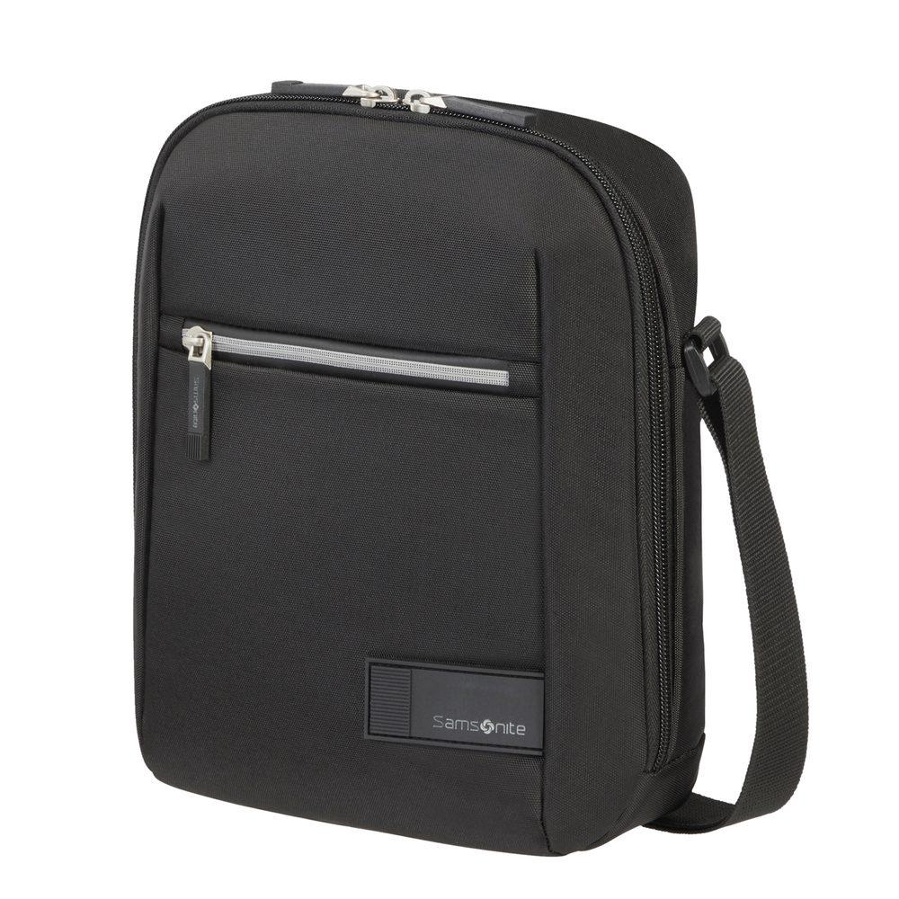 """Samsonite Pánská taška přes rameno Litepoint 9,7"""" - černá"""