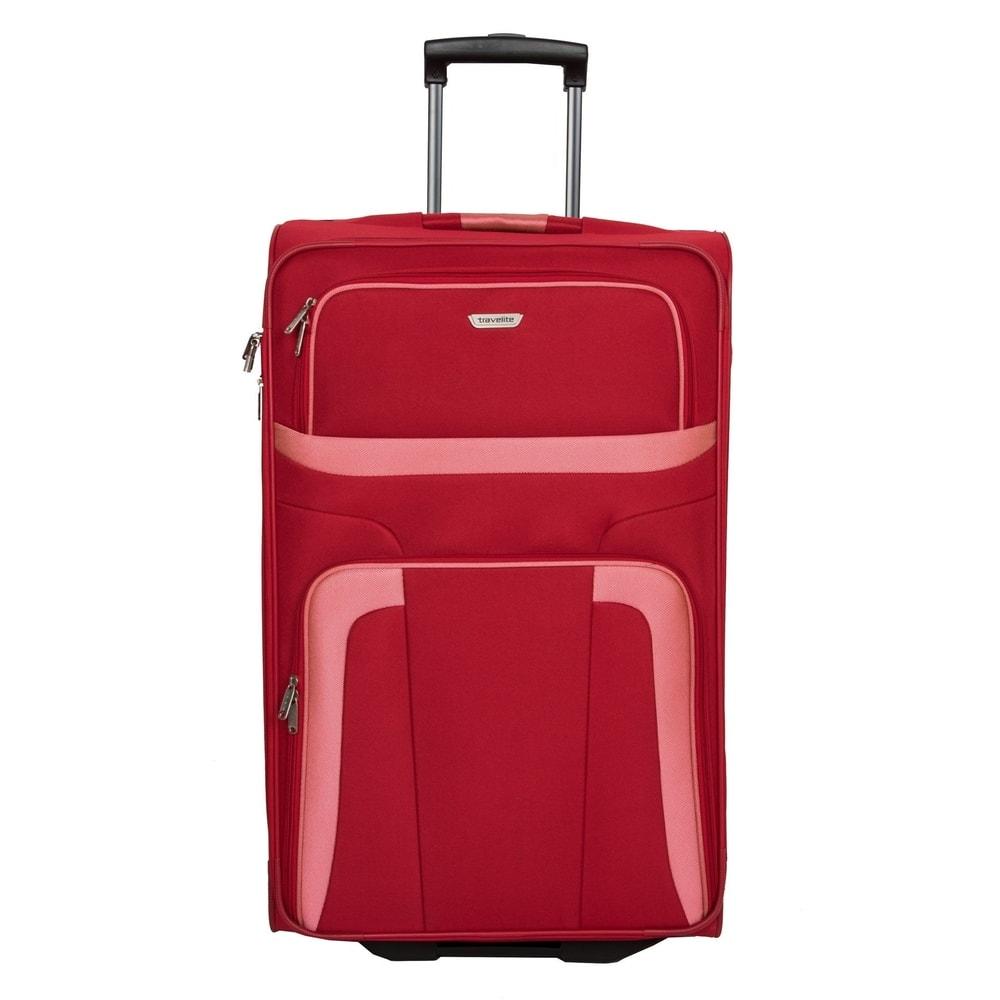 Travelite Cestovní kufr Orlando L Red 80 l