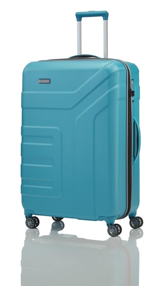 Travelite Cestovní kufr Vector 4w L Turquoise 103 l