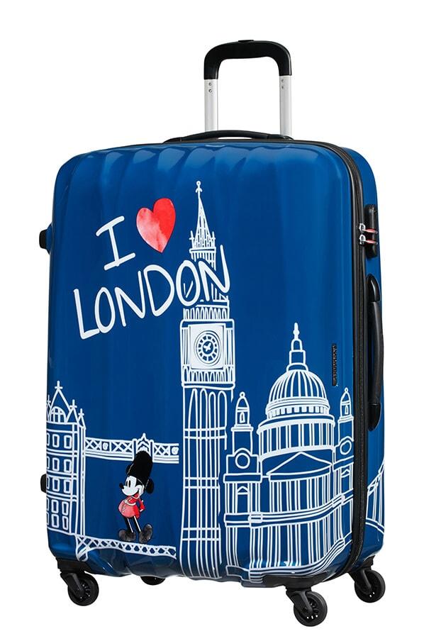 American Tourister Cestovní kufr Disney Legends Spinner 19C 88 l - Take Me Away Mickey London