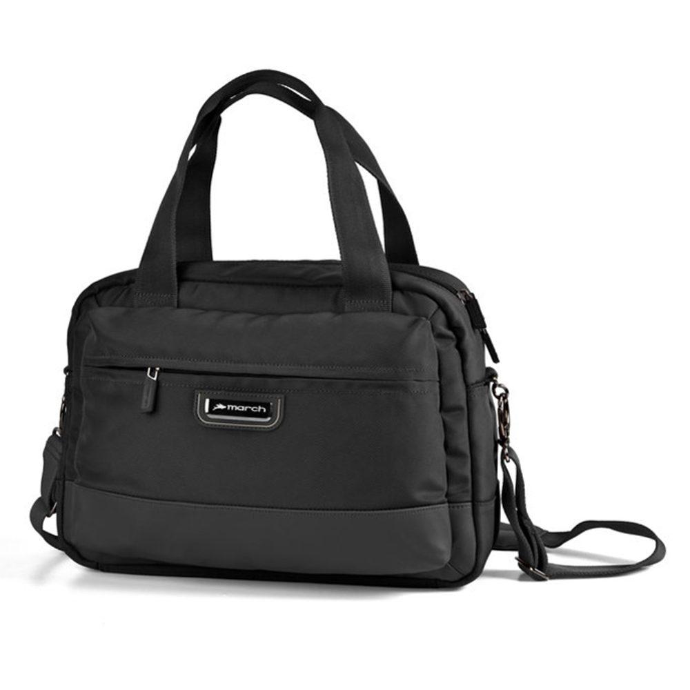March Palubní taška přes rameno Stow A'way 15 l - černá