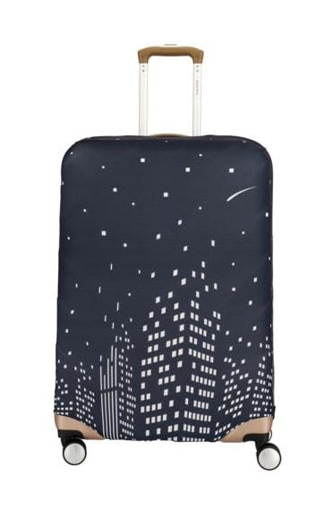 Travelite Ochranný obal na kufr 318 vel. M - modrá