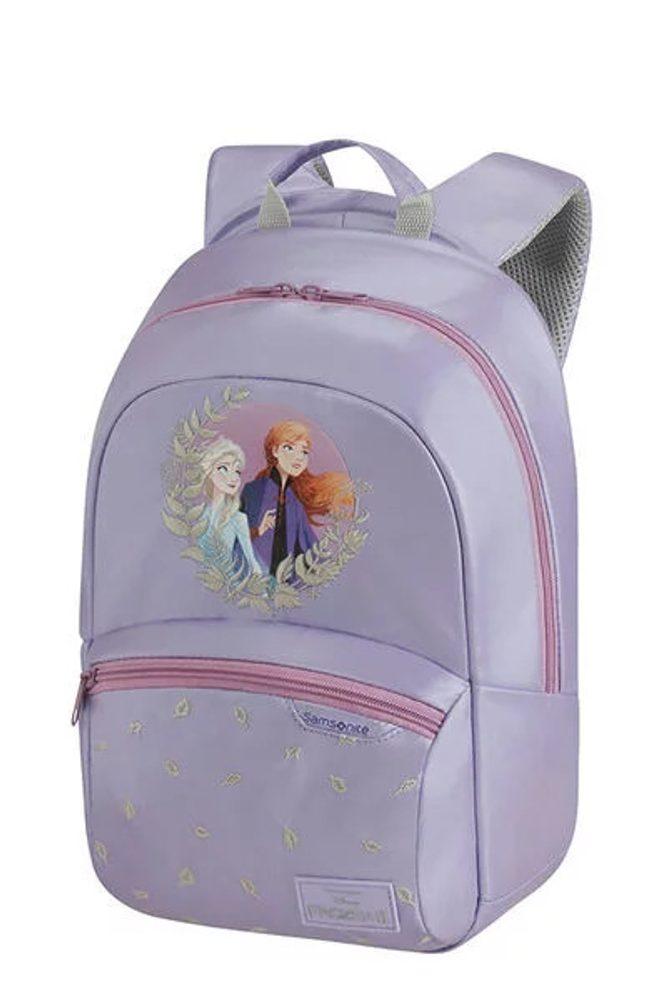 Samsonite Dětský batoh Disney Ultimate 2.0 S+ Frozen 11 l - fialová