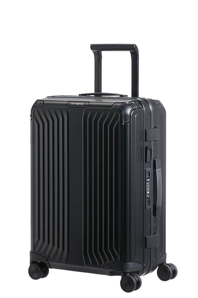 Samsonite Kabinový cestovní kufr Lite-Box Alu S 40 l - černá