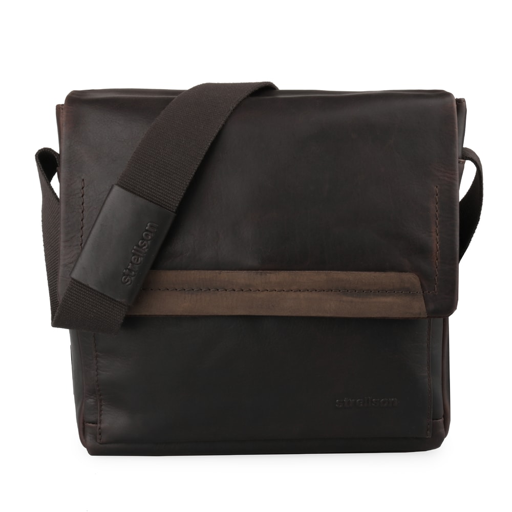Strellson Pánská kožená taška přes rameno Camden 4010002280-702