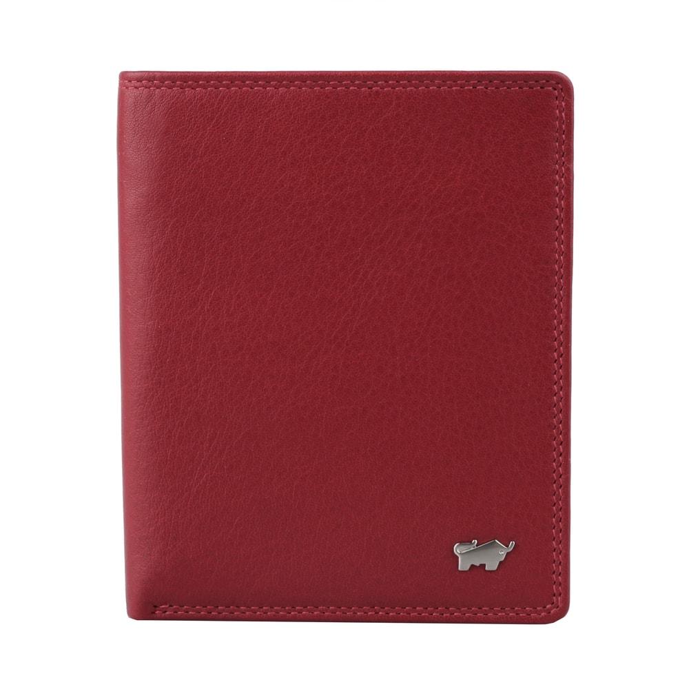 Braun Büffel Kožené pouzdro na doklady Golf 2.0 90448-051 - tmavě červená