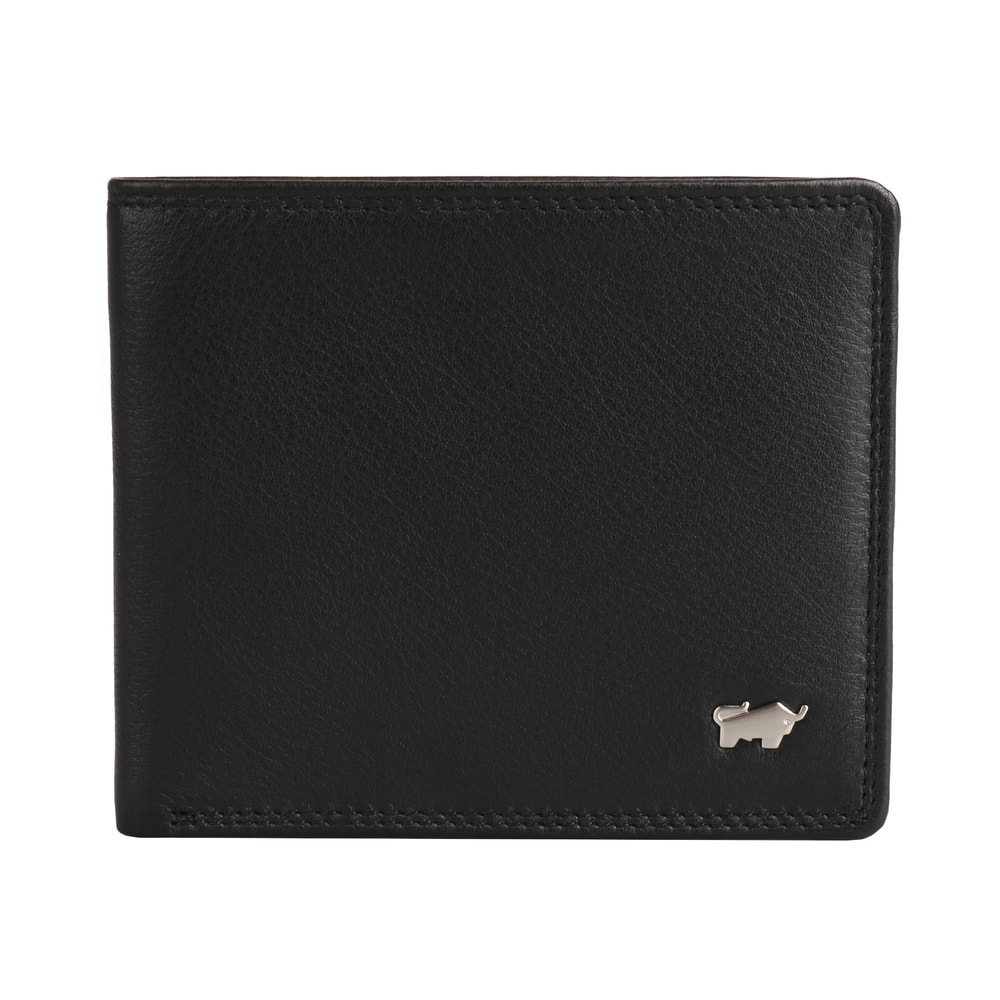 Braun Büffel Pánská kožená peněženka Golf 2.0 Kartenbörse 8CS 90337 - černá