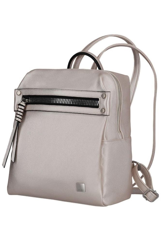 Titan Dámský batoh Spotlight Zip Metallic Pearl 11 l