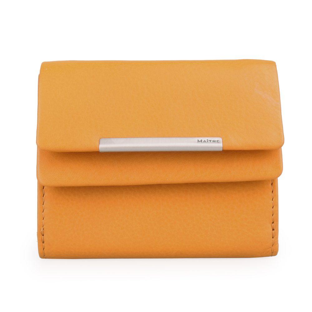 Maître Dámská kožená peněženka Deda 4060001417 - žlutá