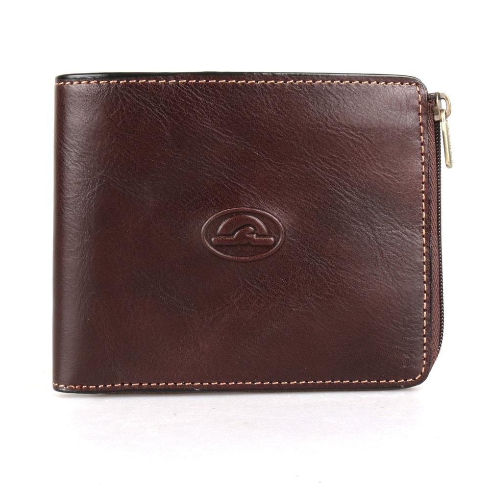 Tony Perotti Pánská kožená peněženka Italico 3645 - tmavě hnědá