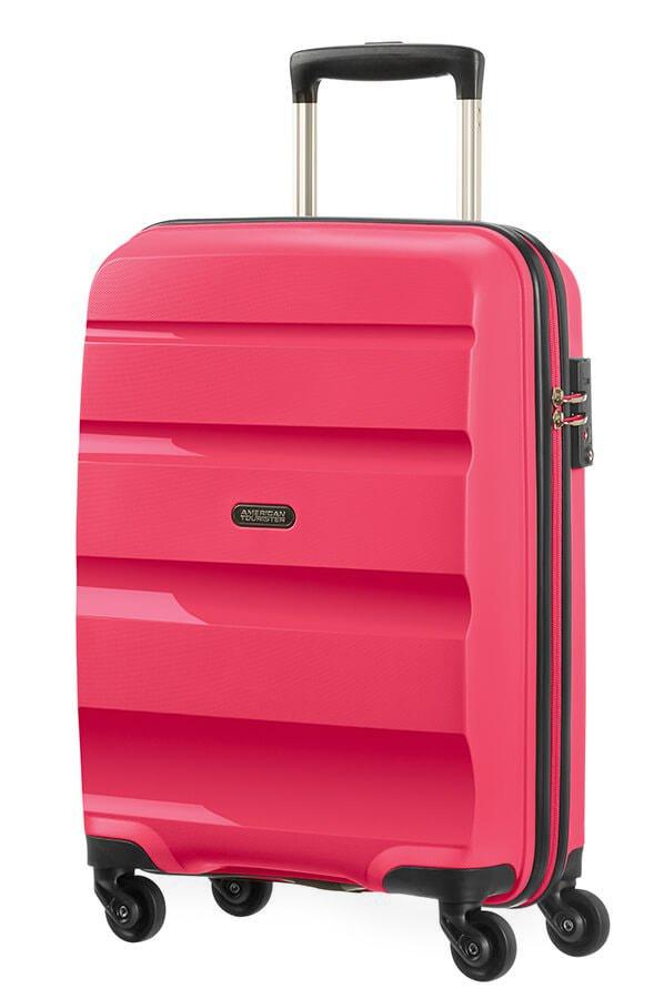 American Tourister Kabinový cestovní kufr Bon Air Spinner 85A 31,5 l - růžová