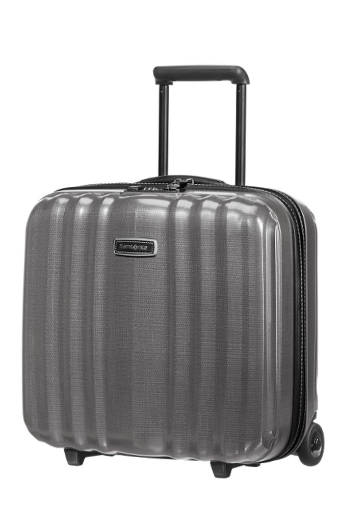 Samsonite Kabinový cestovní kufr Lite-Cube DLX Rolling Tote 82V 31,5 l - šedá