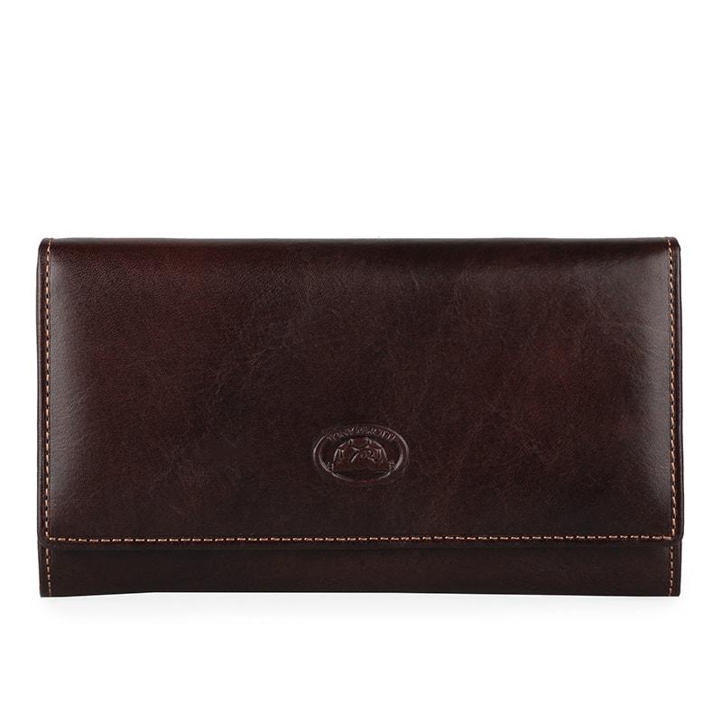 Tony Perotti Dámská kožená peněženka Italico 1073 - tmavě hnědá