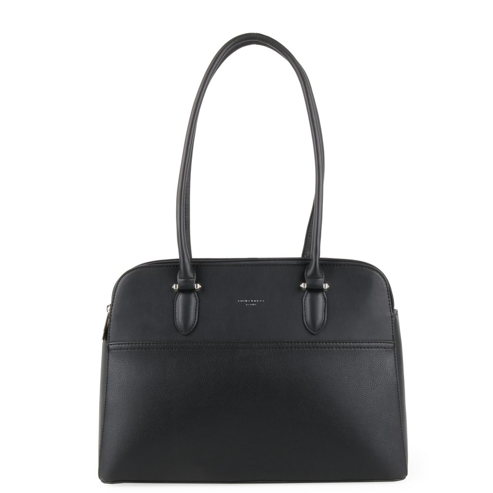 David Jones Paris Dámská kabelka přes rameno 6221-4 - černá