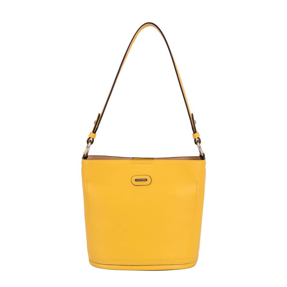David Jones Paris Dámská kabelka přes rameno CM5714A - žlutá