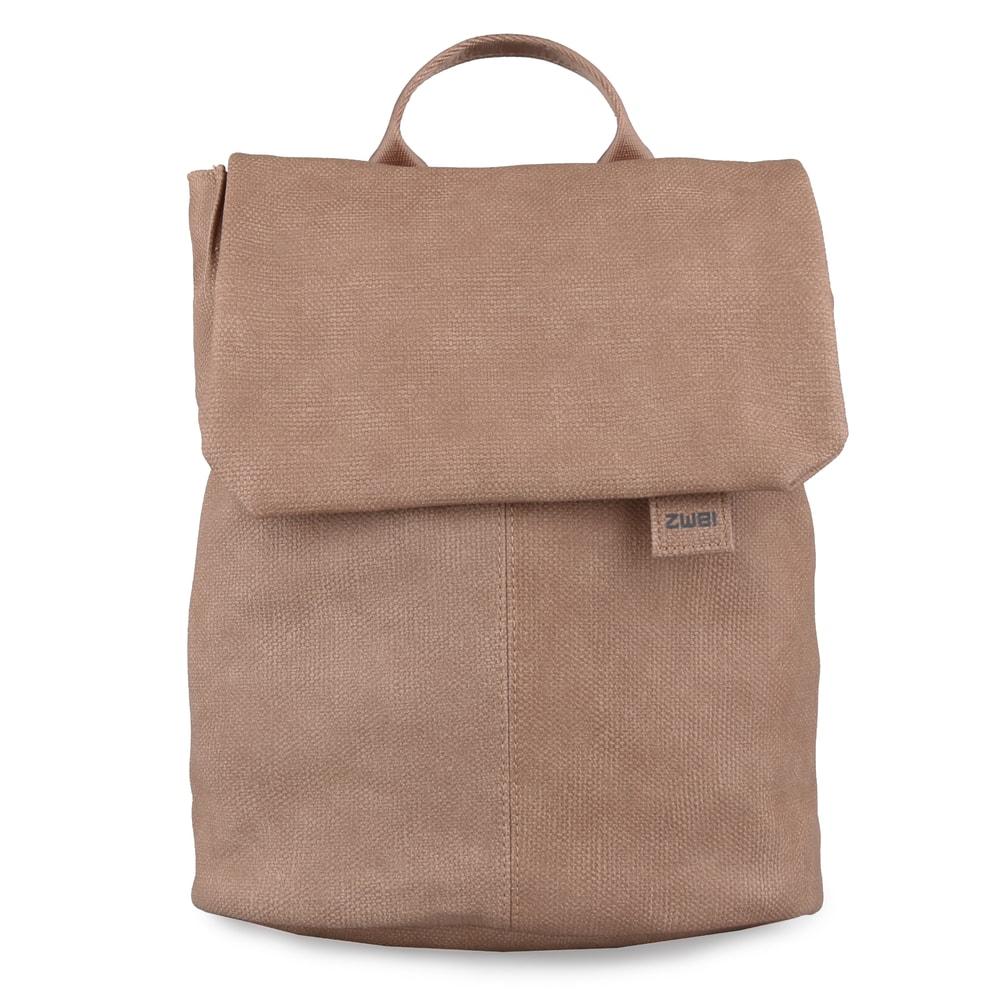 71dcdd65c1 Zwei Dámský batoh Mademoiselle Canvas MR13 6l - světle hnědý