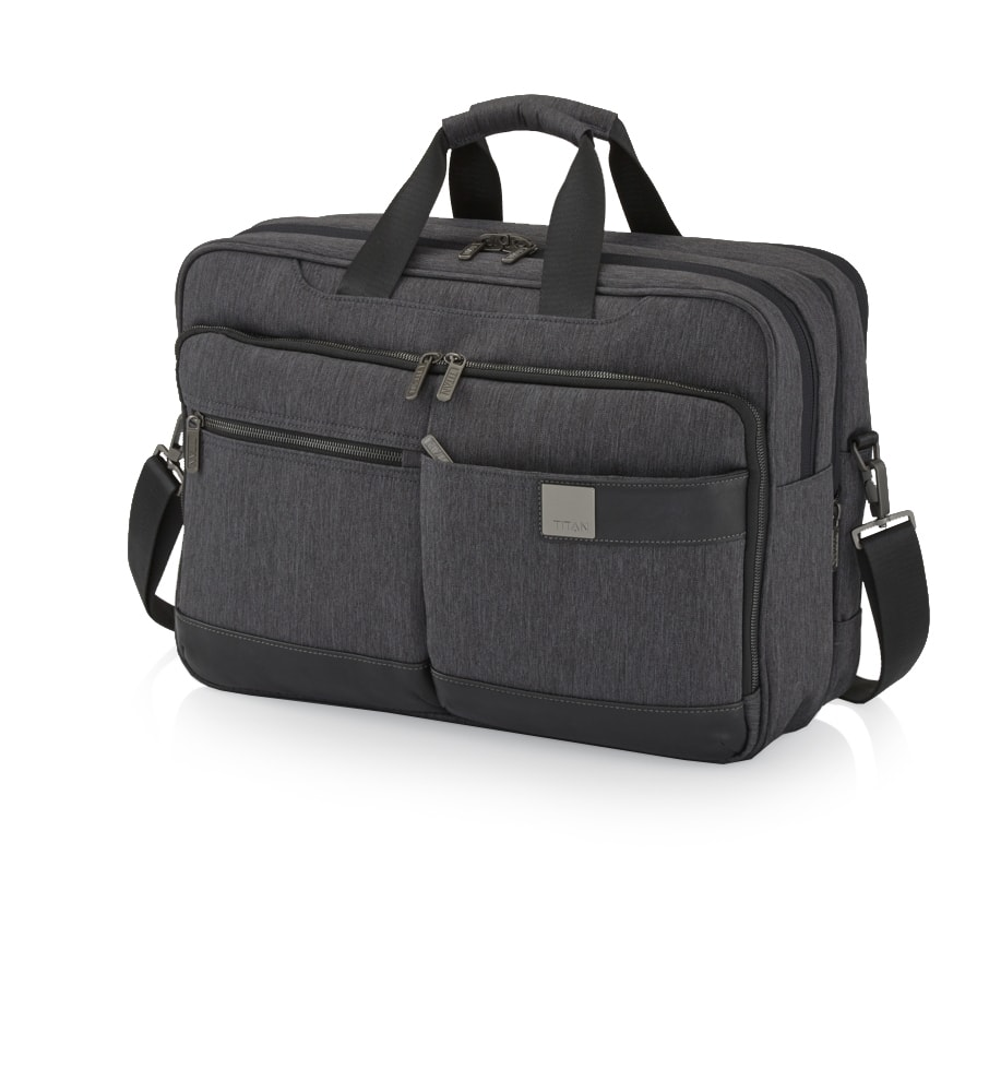 Titan Business taška Power Pack Laptop Bag L Anthracite 15,6 ''