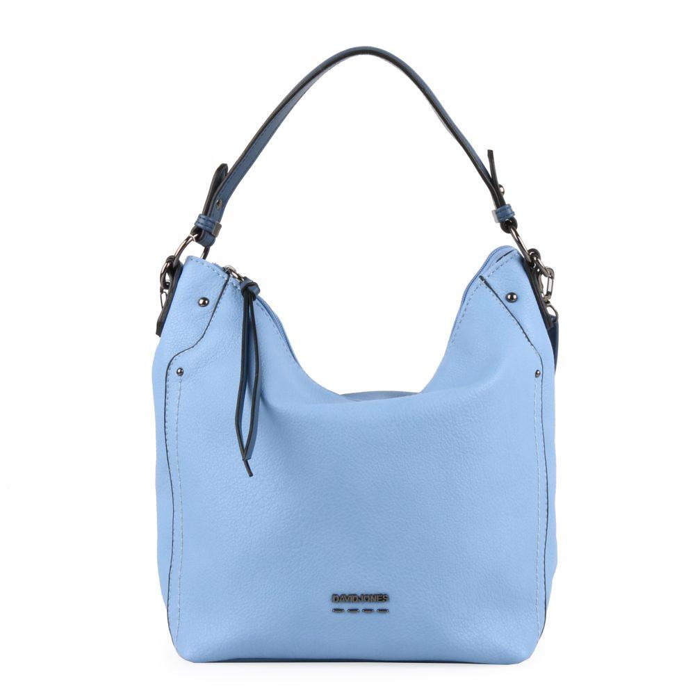 David Jones Paris Dámská kabelka přes rameno 6210-2 - světle modrá