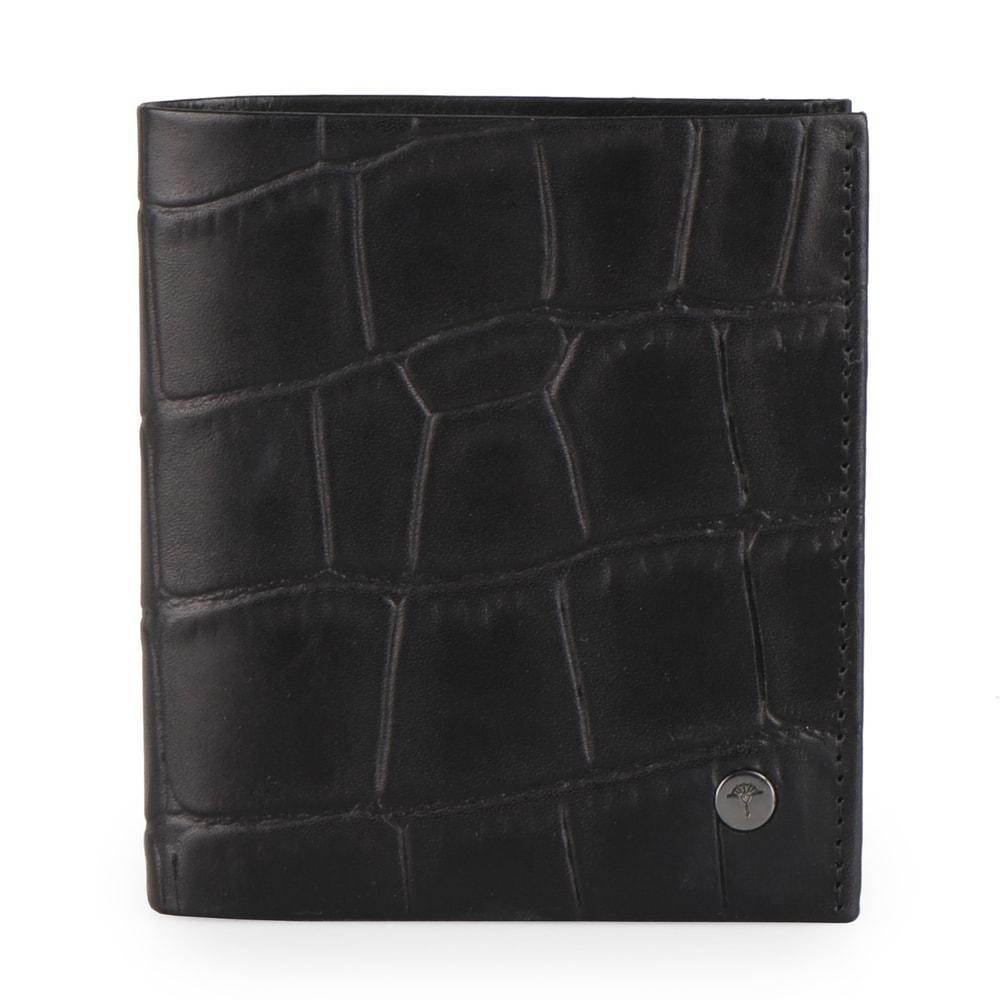 JOOP! Pánská kožená peněženka Daphnis Crocco 4140002276 - černá