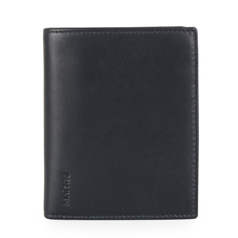 Maitre Pánská kožená peněženka Raumbach Hardwin 4060001502 - tmavě modrá