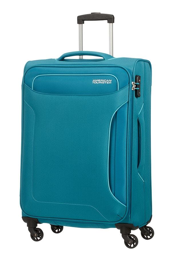 American Tourister Cestovní kufr Holiday Heat Spinner 50G 66 l - tyrkysová