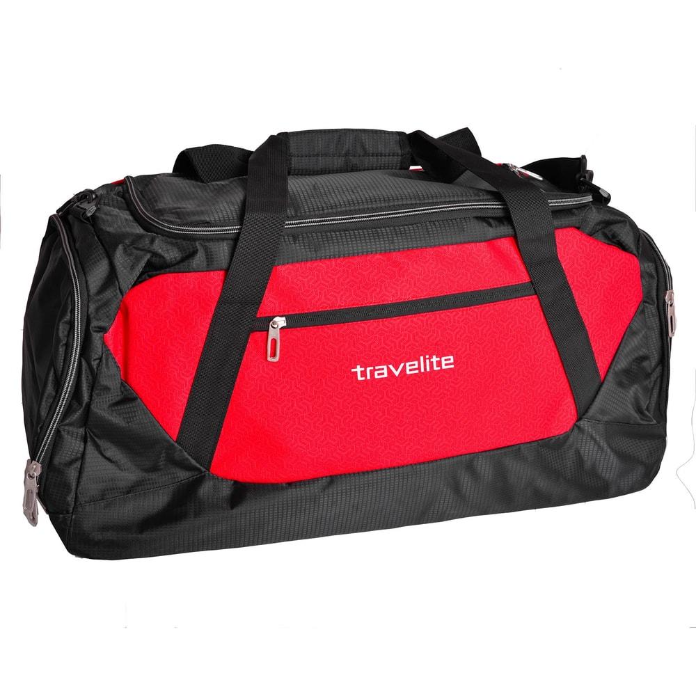 Travelite Cestovní taška Kick Off L Red 6815-10 71 l