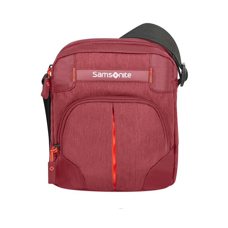 Samsonite Taštička přes rameno Rewind 4,5 l - červená