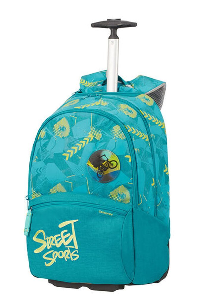 Samsonite Školní batoh na kolečkách Color Funtime 26 l - tyrkysová