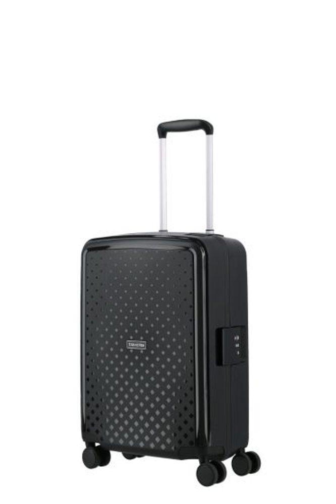 Levně Travelite Kabinový cestovní kufr Terminal S Black 36 l