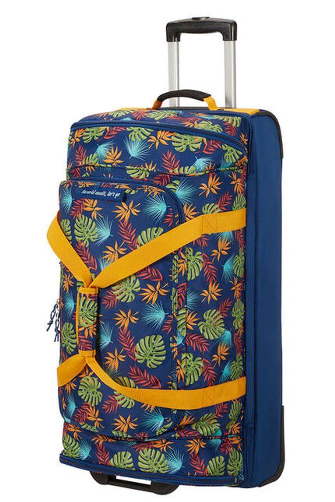 American Tourister Cestovní taška na kolečkách Alltrail L 95,5 l - modrá