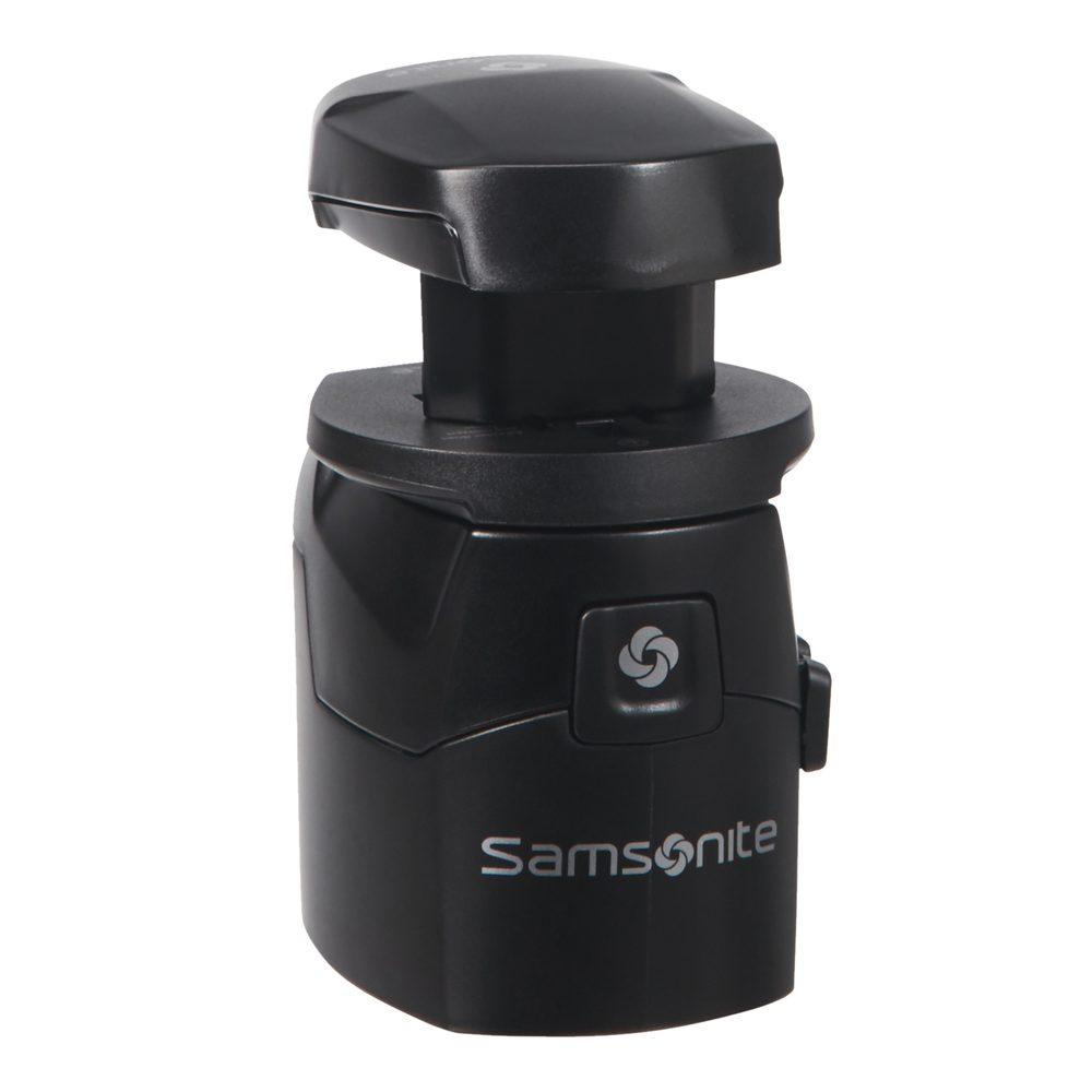 Samsonite Univerzální adaptér s USB - černá