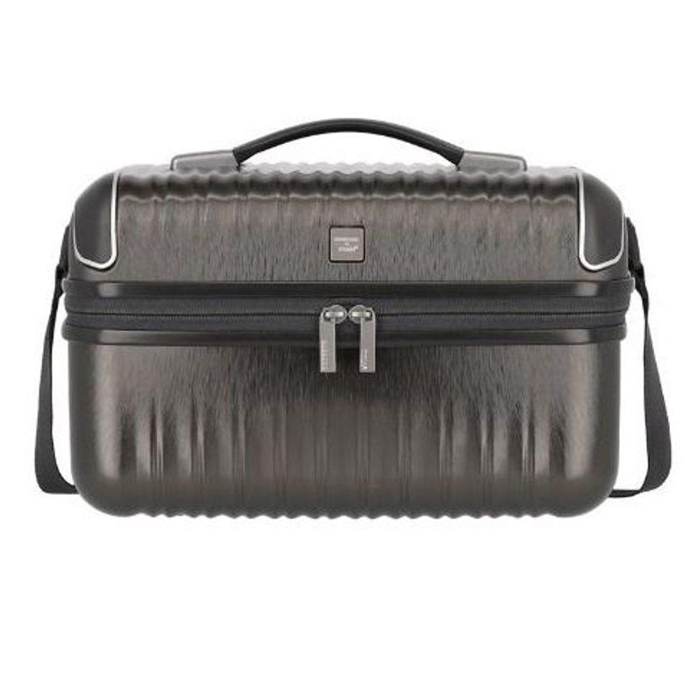 Titan Kosmetický kufřík Barbara Glint Anthracite metallic