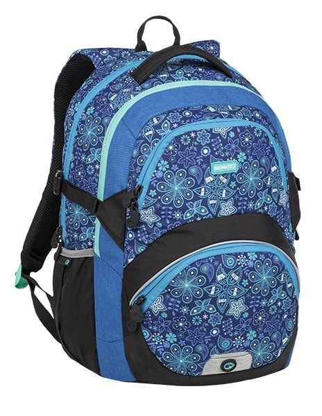 Bagmaster Školní batoh THEORY 9 C BLUE/BLACK 24 l
