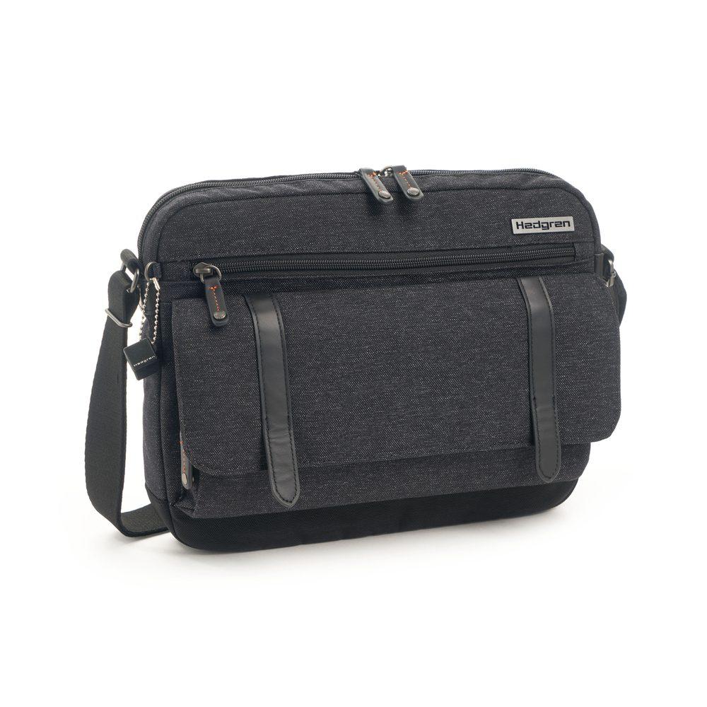Hedgren Pánská taška přes rameno Oak na notebook 13'' - asphalt