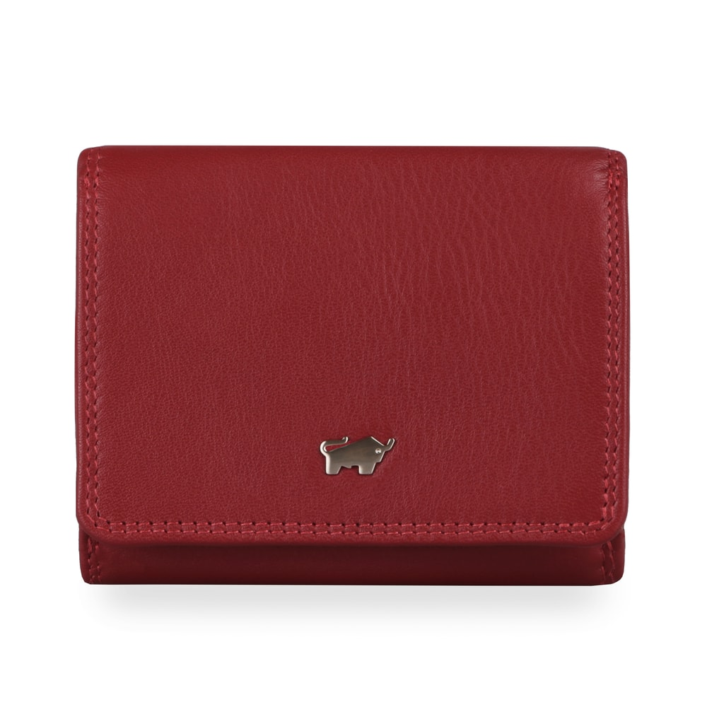 Braun Büffel Dámská kožená peněženka Golf 2.0 90112-051 - červená