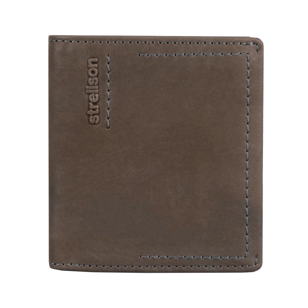 Strellson Pánská kožená peněženka Norton 4010002441 - světle hnědá
