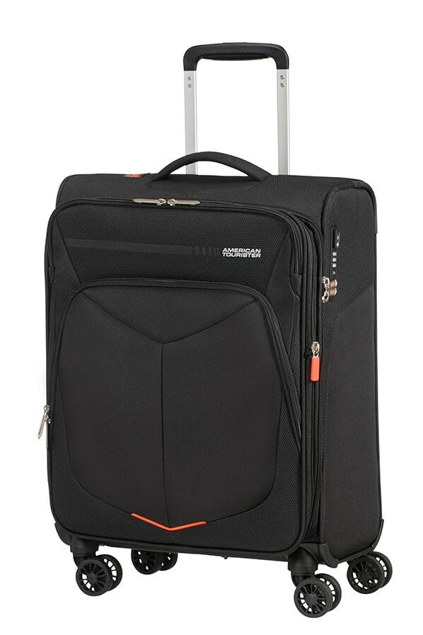 American Tourister Kabinový cestovní kufr Summerfunk Spinner 55/20 EXP TSA - černá