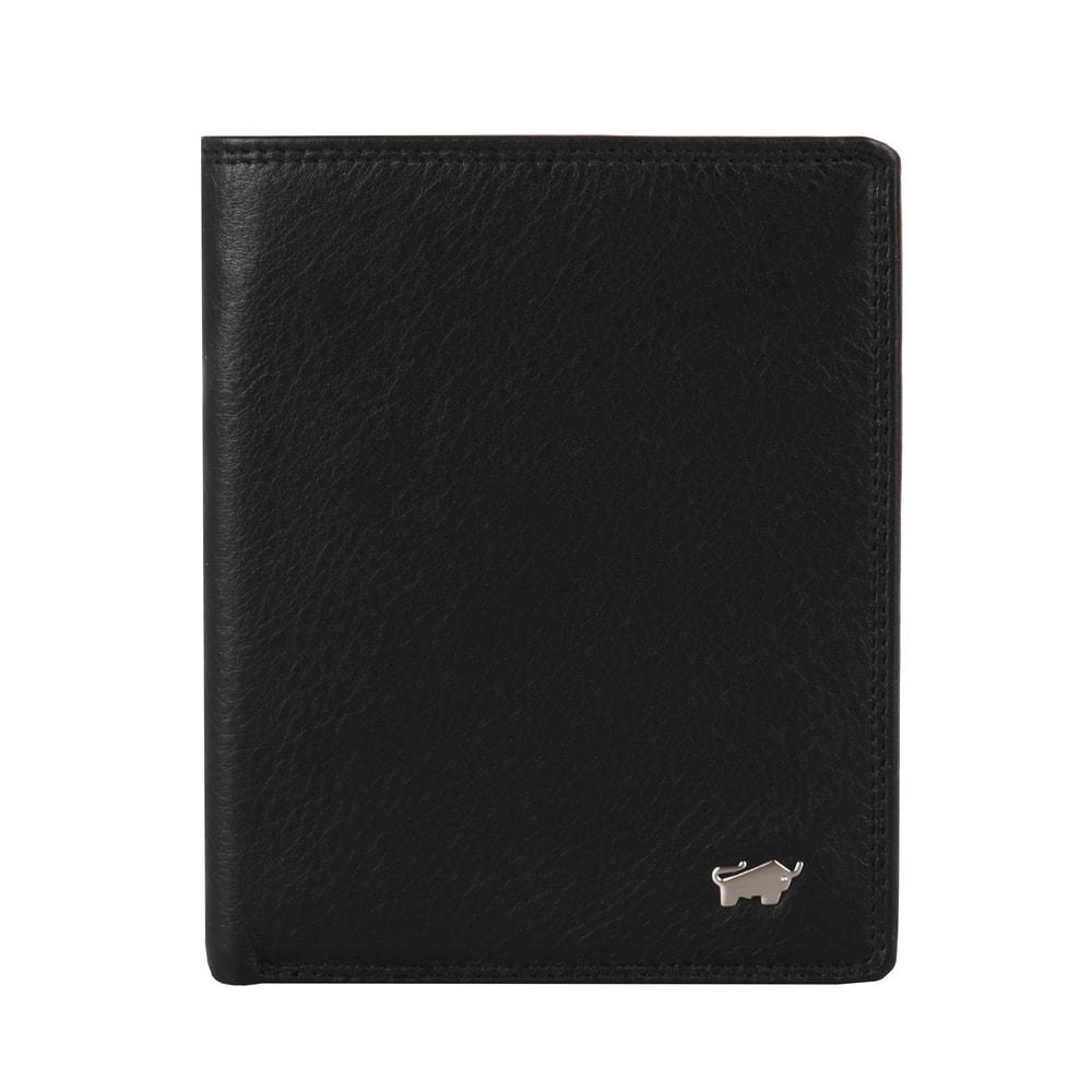 Braun Büffel Pánská kožená peněženka Golf 2.0 90442-051 - černá